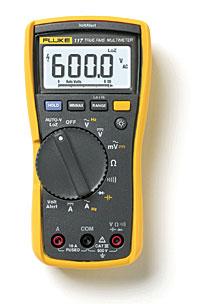 Fluke 117电气技术人员用万用表