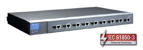MOXA-全千兆电力专用工业以太网交换机-PT-G7509