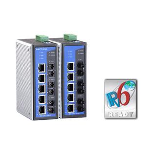 MOXA-网管型工业以太网交换机-EDS-408A 3光口系列
