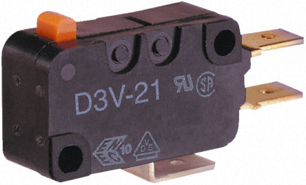 Omron -微动开关-D3V162C25W