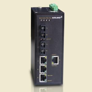 东土SICOM3005卡轨式网管型多业务工业以太网交换机