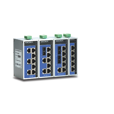MOXAEDS- 208A/205A系列是入门级8口或5口工业以太网交换机