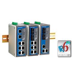 MOXA8端口/5端口工业级以太网交换机