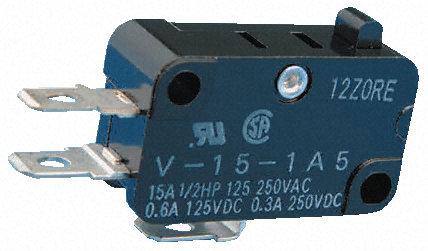 Omron -微动开关-V-155-1A5