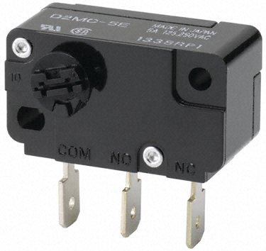 Omron-微动开关-D2MC5E