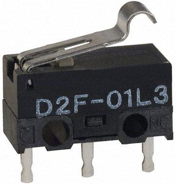 Omron -微动开关-D2F01FL3