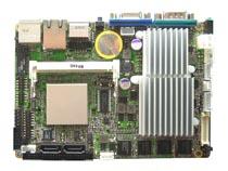 上凝电子ATOM N270 1.6G ,板贴1G内存,VGA/LVDS SBC93827VGGA