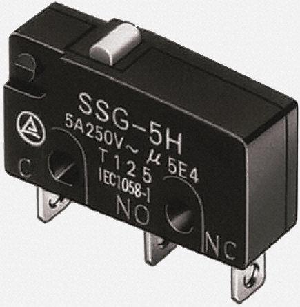 Omron -微动开关-SSG5L3P