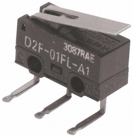 Omron -微动开关- D2F01LA