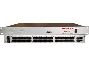 Mexon兆越 MIER-6426 22+4G 工业以太网光纤交换机