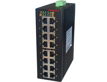 Mexon兆越 MIE-5420 16+4G 自愈环工业以太网光纤交换机