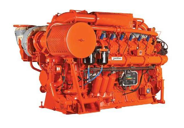 瓦克夏燃气发电机组 瓦克夏燃气发动机