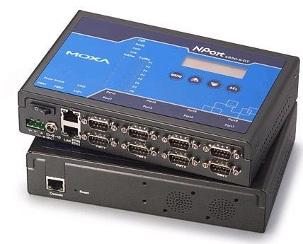 MOXA NPort 5610-8-DT  总代理 串口服务器
