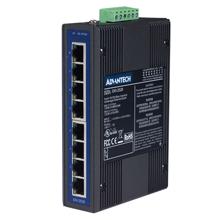 研华EKI-2528I8端口非网管型工业以太网交换机