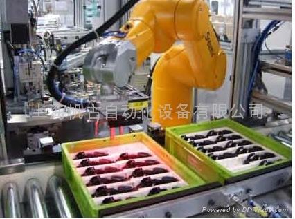 机器视觉系统机器人引导