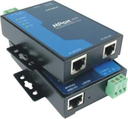 MOXA NPort 5210 总代理 双串口服务器