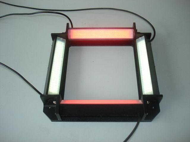 机器视觉系统光源供应 四面可调型光源