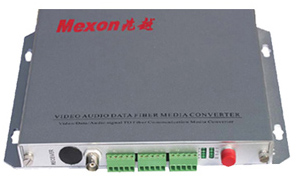 Mexon兆越 1路视频+音频+数据/报警光端机