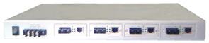 Mexon兆越 ME0110-4M  1U机架式4通道光纤收发器
