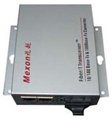 Mexon兆越 10/100M 光纤收发器