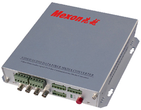 Mexon兆越 4路视频+音频+数据/报警光端机