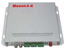 Mexon兆越 2路视频+音频+数据/报警光端机