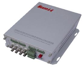 Mexon兆越 8路视频+音频+数据/报警光端机