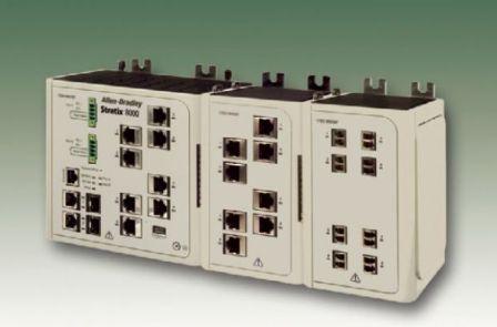 罗克韦尔Stratix 8300三层工业以太网交换机