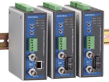 白色MOXA VPort 351总代理 视频服务器