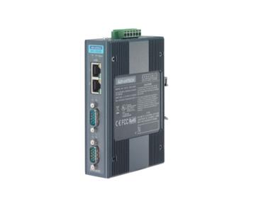 研华EKI-1222D 2端口集成以太网层叠Modbus数据网关