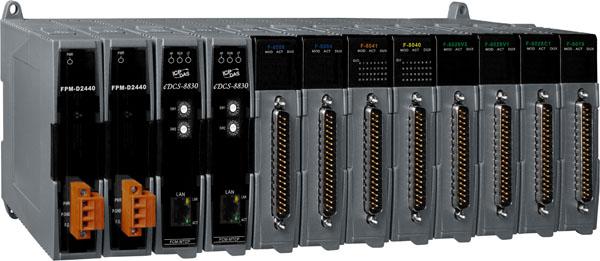 泓格智能远程冗余以太网I/O扩展单元iDCS-8000