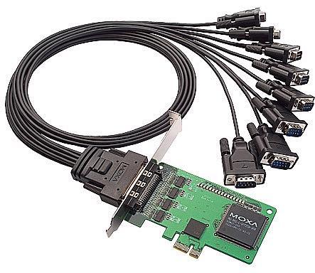 资阳MOXA CP-168EL-A总代理 多串口卡