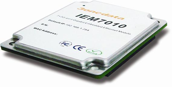 三旺通信千兆嵌入式工业以太网交换机模块IEM7010