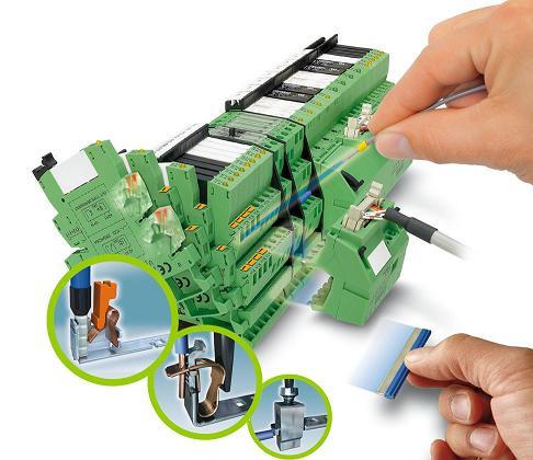 菲尼克斯电气PLC PIT直插式弹簧连接继电器