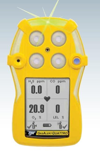 GsaAlertQuattro四合一气体检测仪/气体监测仪