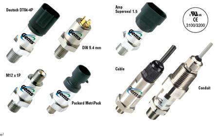 丹纳赫Gems 3100/3200压力变送器