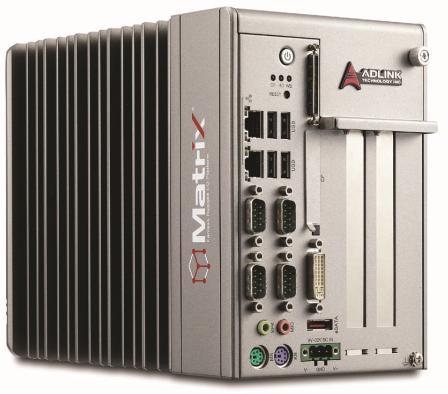 凌华科技Matrix MXC-6000嵌入式控制计算平台