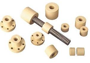 螺栓驱动|梯形螺纹和步进螺纹|梯形丝杠螺母|直线滑动轴承|梯形丝杆螺母