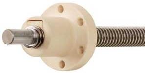 自润滑及低噪音轴承螺母|抗反冲击力螺母|易格斯带法兰的圆柱形螺母