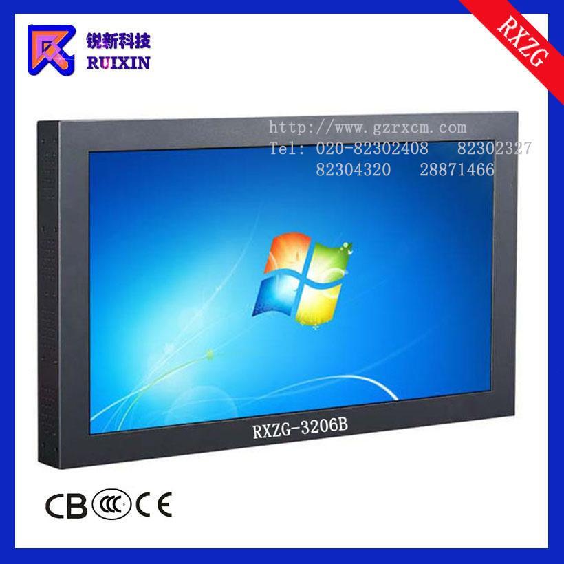 锐新RXZG-3206B防暴防水防尘触摸电脑一体机(单点多点)