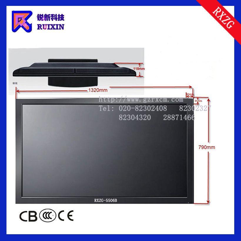 锐新RXZG-5506B高光防暴防水防尘触摸电脑一体机(单点多点)