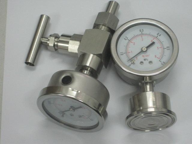 不锈钢隔膜压力表SP-100/MC,SP-60/MC,SP-150/MC