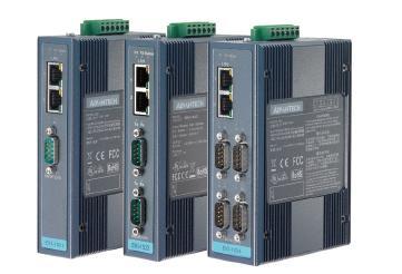 研华1 端口RS-232/422/485串行设备联网服务器EKI-1521
