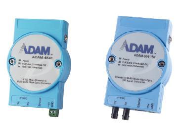 研华工业级百兆多模光电转换器ADAM-6541系列