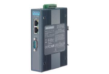 研华1 端口Modbus数据网关,支持以太网级联EKI-1221D