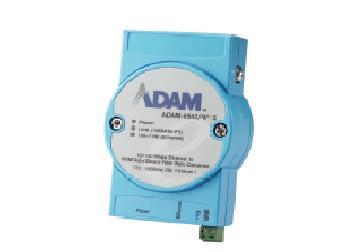研华工业级百兆单模WDM光电转换器ADAM-6542系列