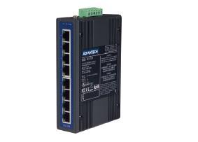 研华8端口非网管型工业以太网交换机EKI-2528/I