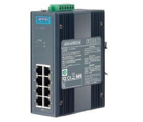 研华8端口宽温非网管工业PoE交换机EKI-2528PAI