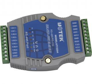 宇泰四口485集线器/485hub/串口分配器 UT-5204