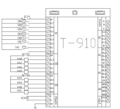 7.plc的接线图